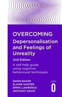 Overcoming Depersonalisation and Feelings of Unreality  2nd Edition PDF