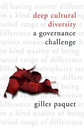 Deep Cultural Diversity: A Governance Challenge