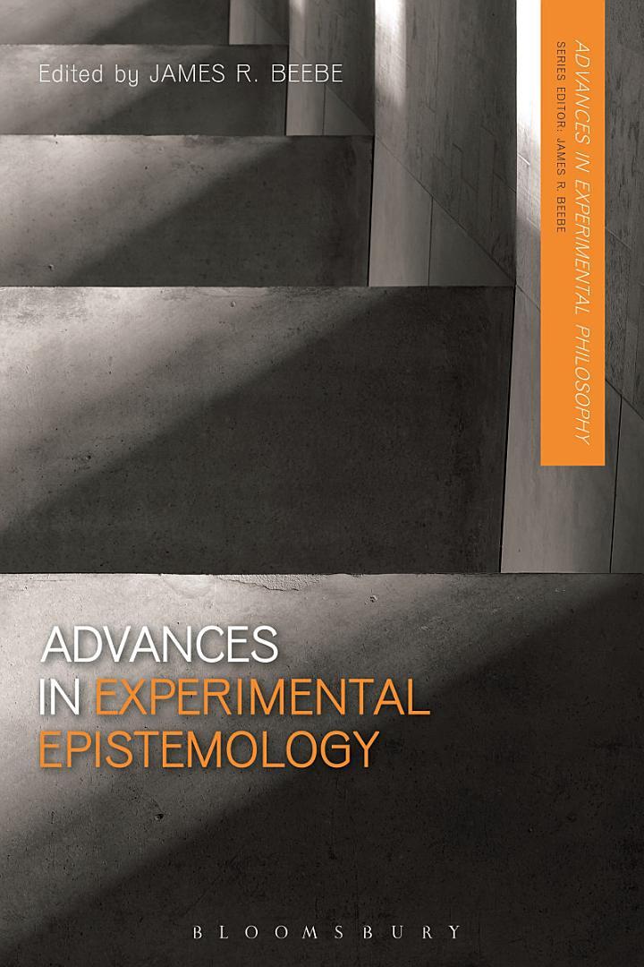Advances in Experimental Epistemology