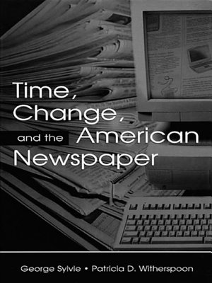 Time  Change  and the American Newspaper PDF