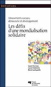 Les Défis D'une Mondialisation Solidaire