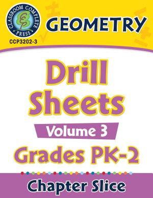 Geometry   Drill Sheets Vol  3 Gr  PK 2