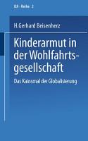 Kinderarmut in der Wohlfahrtsgesellschaft PDF