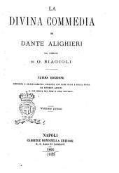 La Divina Commedia di Dante Alighieri: Volume 1