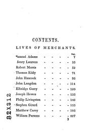Lives of American Merchants: Eminent for Integrity, Enterprise and Public Spirit