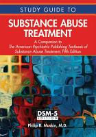 Study Guide to Substance Abuse Treatment PDF