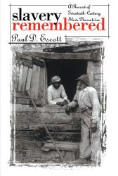 Slavery Remembered PDF