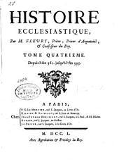 Histoire ecclésiastique: Depuis l'an 361 jusqu'à l'an 395