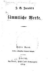 Sämmtliche Werke: Bände 1-2
