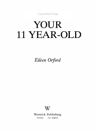 Understanding Your 11 Year old PDF