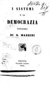 I sistemi e la democrazia pensieri