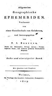 Allgemeine geographische Ephemeriden: Band 46