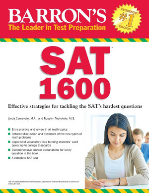 Barron s SAT 1600  5th edition PDF