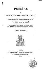 Poesías de don Juan Meléndez Valdes: Volumen 3
