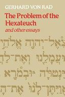 The Problem of the Hexateuch and Other Essays