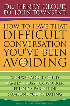 How to Have That Difficult Conversation You ve Been Avoiding PDF