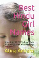 Best Hindu Girl Names PDF