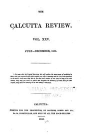 The Calcutta Review: Volume 25