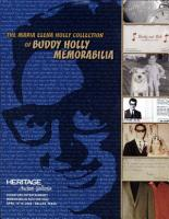 Heritage Auction Galleries Presents the Maria Elena Collection of Buddy Holly Memorabilia Auction Catalog PDF