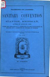 Proceedings and Addresses at a Sanitary Convention ...