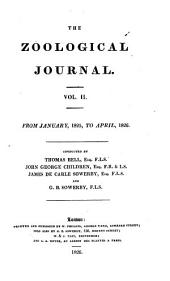 The Zoological Journal: Volume 2