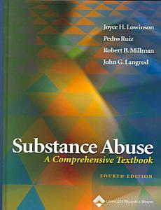 Substance Abuse Book