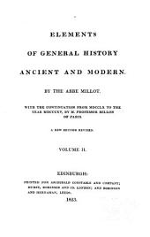 Elements of General History: Ancient and Modern, Volume 2