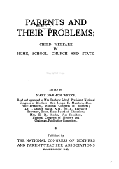 Parents and Their Problems: Methods and materials for training