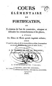 Cours élémentaire de fortification...
