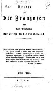 Briefe an die Franzosen: Band 1