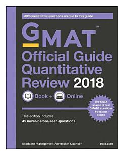GMAT Official Guide 2018 Quantitative Review  Book   Online Book