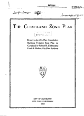 The Cleveland Zone Plan: Report to the City Plan Commission Outlining Tentative Zone Plan for Cleveland