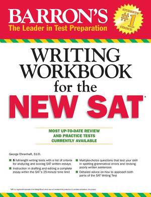 Barron s Writing Workbook for the New SAT