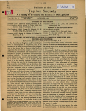 Bulletin of the Society to Promote the Science of Management: Volume 3, Issue 5
