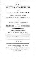 The History of the Turkish  Or Ottoman Empire  PDF