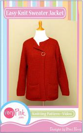 Easy-Knit Sweater Jacket