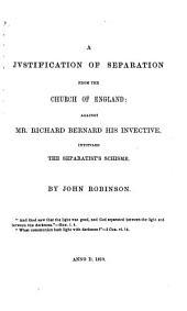 The Works of John Robinson, Pastor of the Pilgrim Fathers: Volume 2
