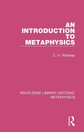 An Introduction to Metaphysics PDF