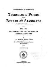 Technologic papers of the Bureau of Standards: Issues 20-31