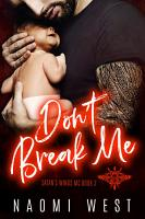 Don t Break Me PDF