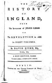 The History of England: Volume 7