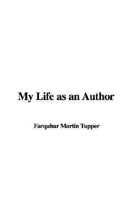 My Life as an Author