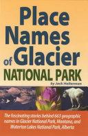 Place Names of Glacier National Park PDF
