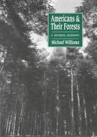 Americans and Their Forests PDF