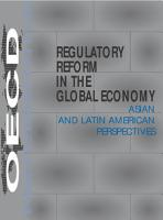 Regulatory Reform in the Global Economy Asian and Latin American Perspectives PDF