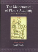 Download The Mathematics of Plato s Academy Book