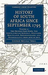 History of South Africa Since September 1795 PDF