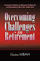 Overcoming Challenges in Retirement PDF