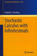 Stochastic Calculus with Infinitesimals