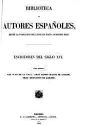 Escritores del siglo XVI: Volumen 27